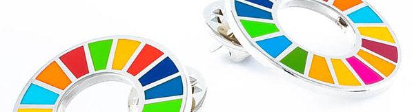 Køb den flotte sdg pin i unicef shoppen