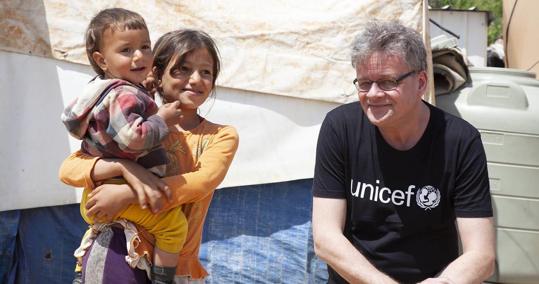 Steen M Andersen, Generalsekretær i UNICEF Danmark ude i felten