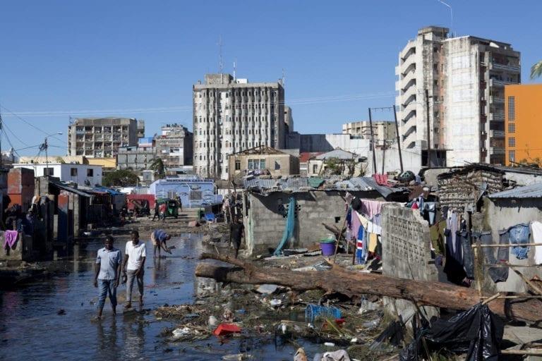 Sådan ser der ud i Beira efter cyklonen Idai ramte
