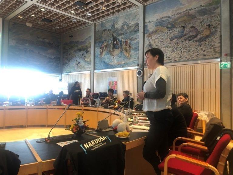 I salen var både politikere og fagfolk mødt op for at lytte til Børnerådet.