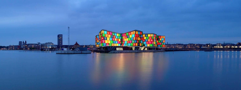 FN Byen i SDG farver