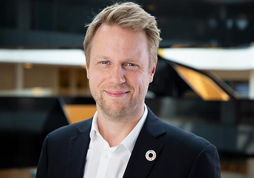 Mediechef i UNICEF Danmark Christian Sophus Ehlers