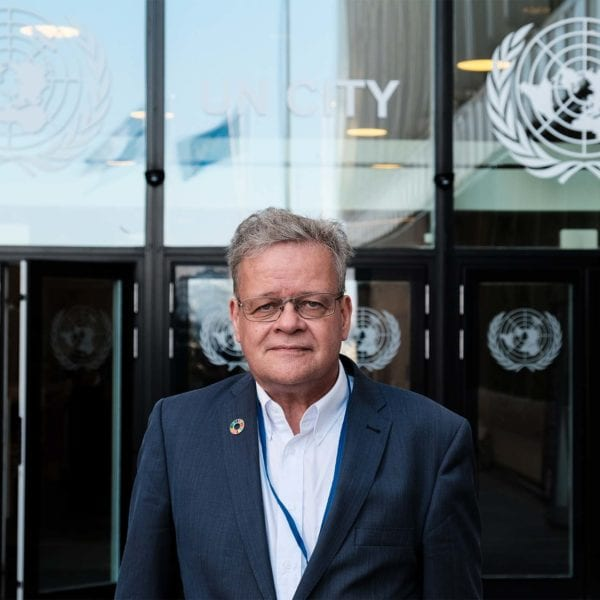 UNICEF Danmarks generalsekretær Steen M. Andersen byder velkommen til VL Døgnet i FN-byen