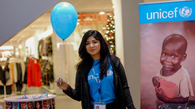 Bliv frivilli hos UNICEF Danmark og kom ud og spred vores budskaber ved events etc
