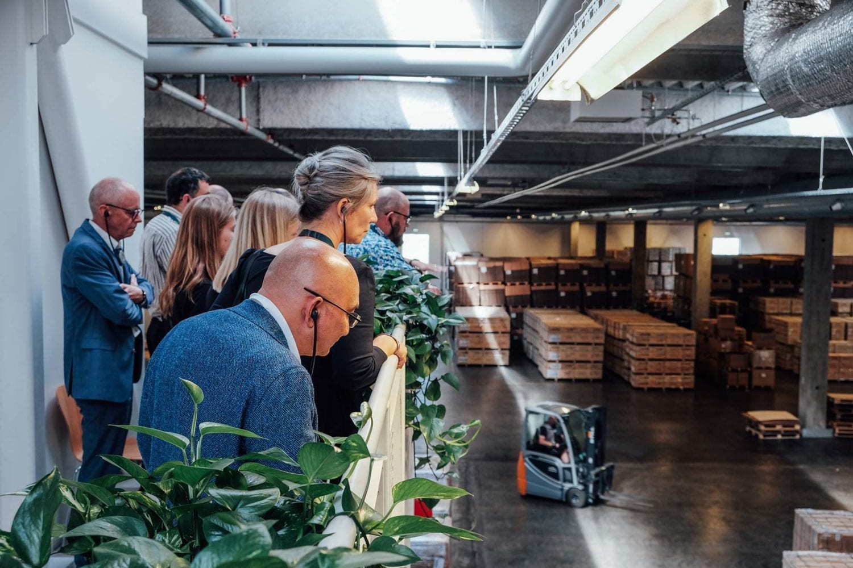 Deltagere ved VL Døgnet fik mulighed for at se UNICEF Supply Devisions Verdenslager, hvorfra nødhjælp sendes ud når en katastrofe indtræffer