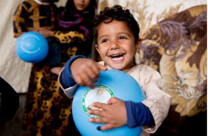 65,5 millioner børn modtog tre doser af Pentavalent-vaccinen, som inkluderer vacciner mod difteri, stivkrampe og kighoste.