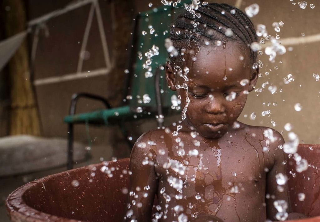 vand bad barn rent vand sanitet gode toiletforhold