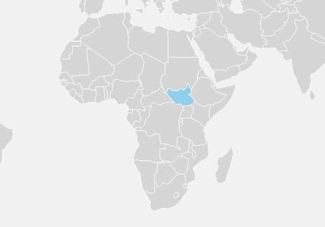 Sydsudan er en indlandsstat i det nordøstlige Afrika, der grænser op til Sudan, Etiopien, Kenya, Uganda, DR Congo og den Centralafrikanske Republik