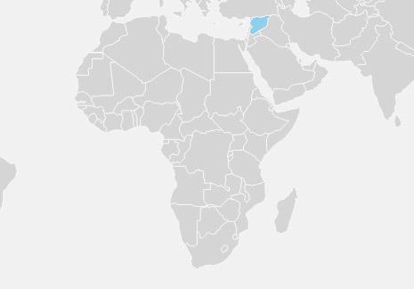 Syrien er et land i det vestlige Asien, der grænser op til Libanon og Middelhavet mod vest, Tyrkiet mod nord, Irak mod øst, Jordan mod syd og Israel/Palæstina mod sydvest.