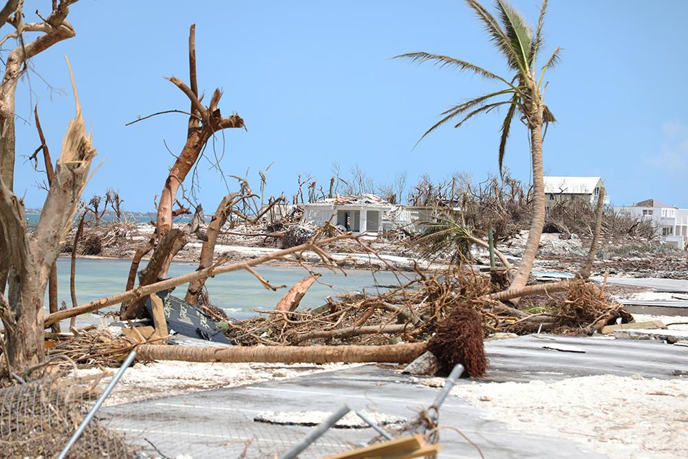 Ødelæggelser efter orkanen Dorian i Bahamas 2019
