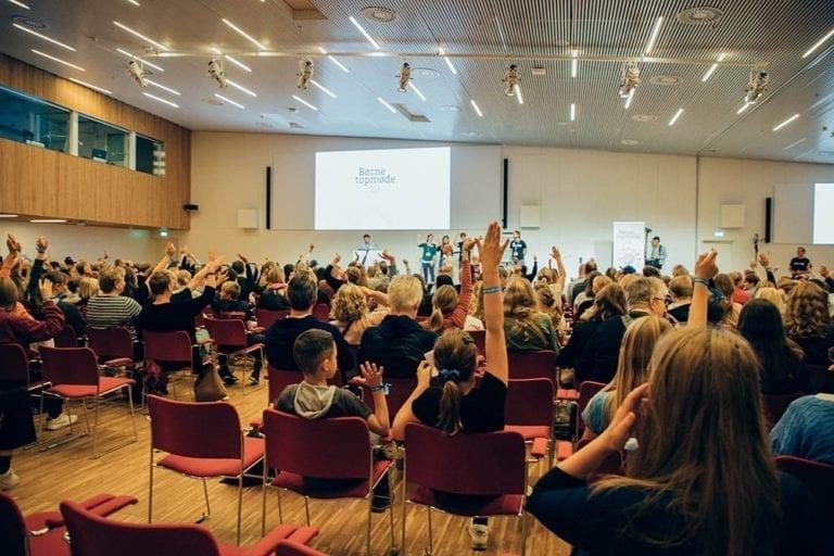 Børnene deltager aktivt til Børnetopmøde 2019