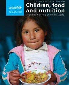 State of the world children rapporten viser at mange børn er enten underernærede, fejlernærede eller overernærede.