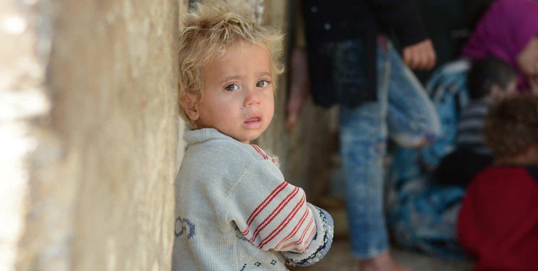 Syrisk dreng