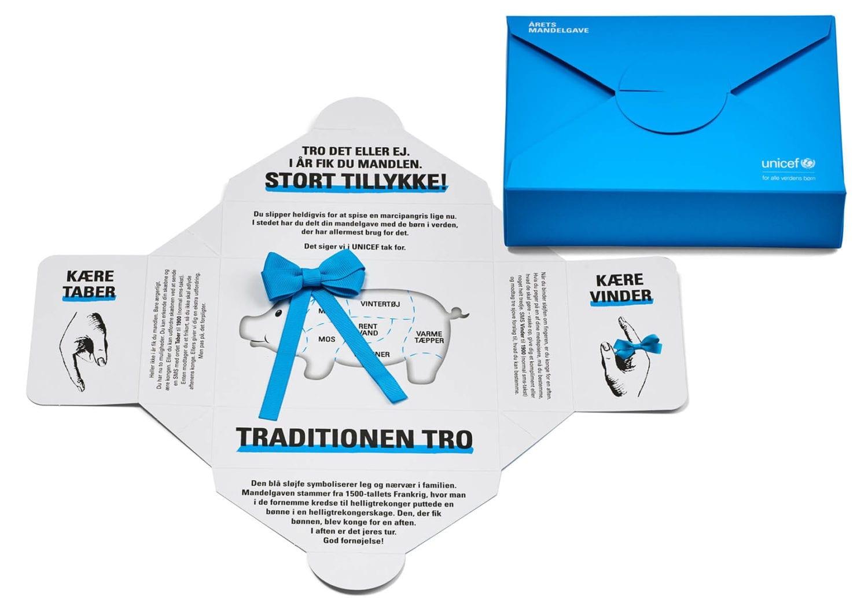 UNICEF mandelgave - giv årets mandelgave til børn, der har brug for den