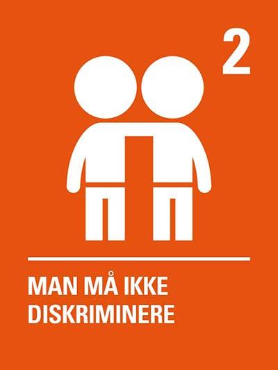 Man må ikke diskriminere