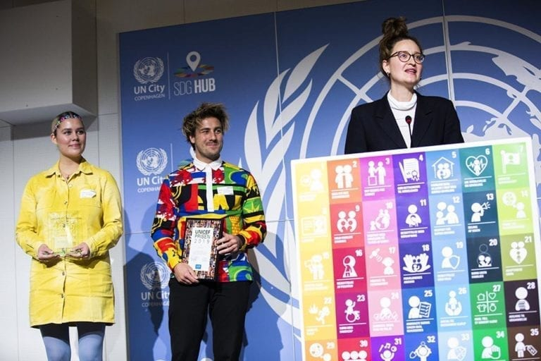 DR's Ultra Nyt holder takketale, da de vinder UNICEF Prisen 2019