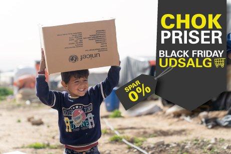Black Friday - giv vinterhjælp til syriske flygtningebørn