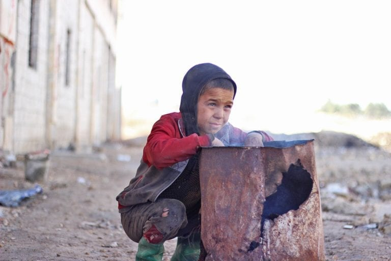 UNICEF vinterhjælp