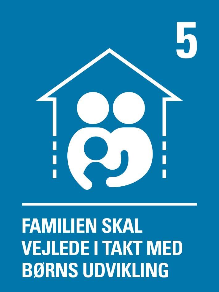 Familien skal vejlede i takt med barnets udvikling