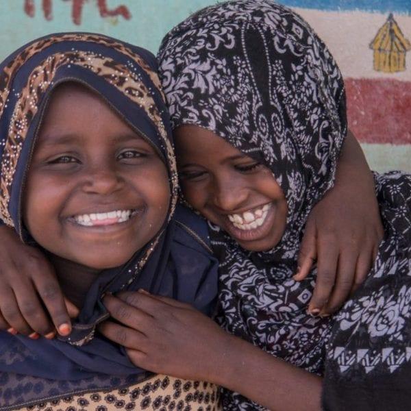 Piger I Afar får glæde af Børnenes U-landskalender 2020