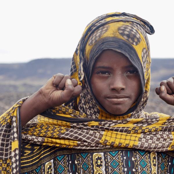 Børnenes U-landskalender 2020 støtter piger i Etiopien med uddannelse