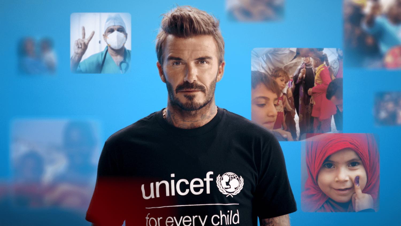 UNICEF-ambassadør David Beckham står i front for ny vaccinekampagne